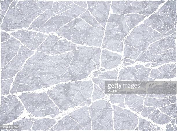 backgrounds concrete stone rock cracked broken grunge - cracked stock illustrations