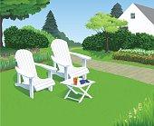 Backyard Garden Chairs