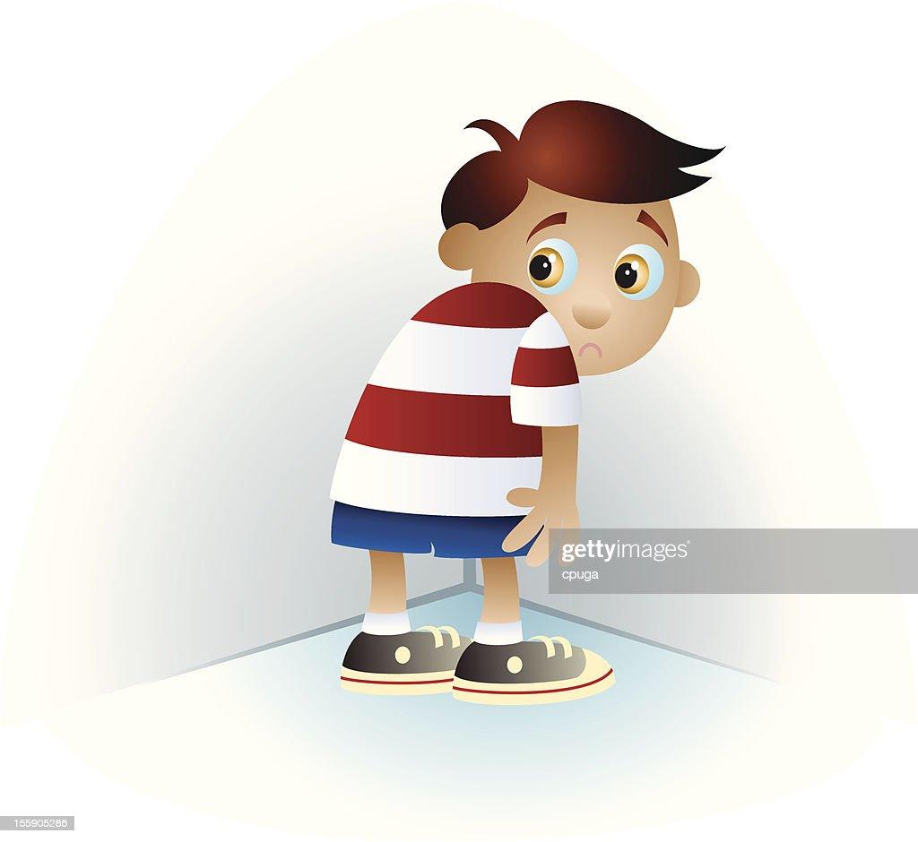 Bad Boy Punished Cartoon