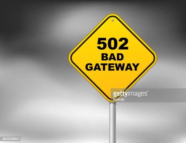 ilustrações, clipart, desenhos animados e ícones de bad gateway (erro 502 - mensagem de erro