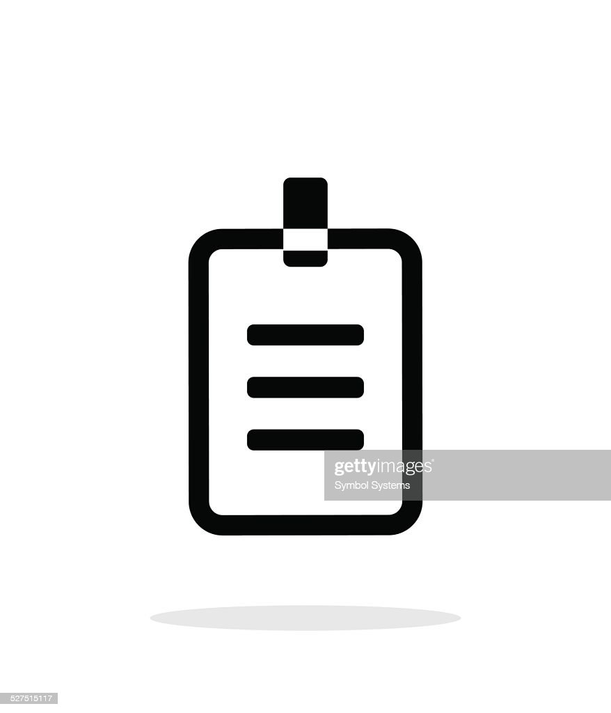 Badge icon on white background.