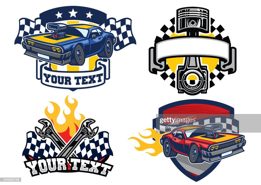 badge muscle car design