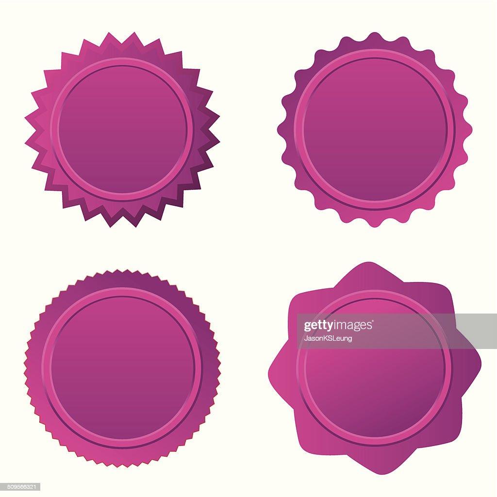 Badge Set- vector
