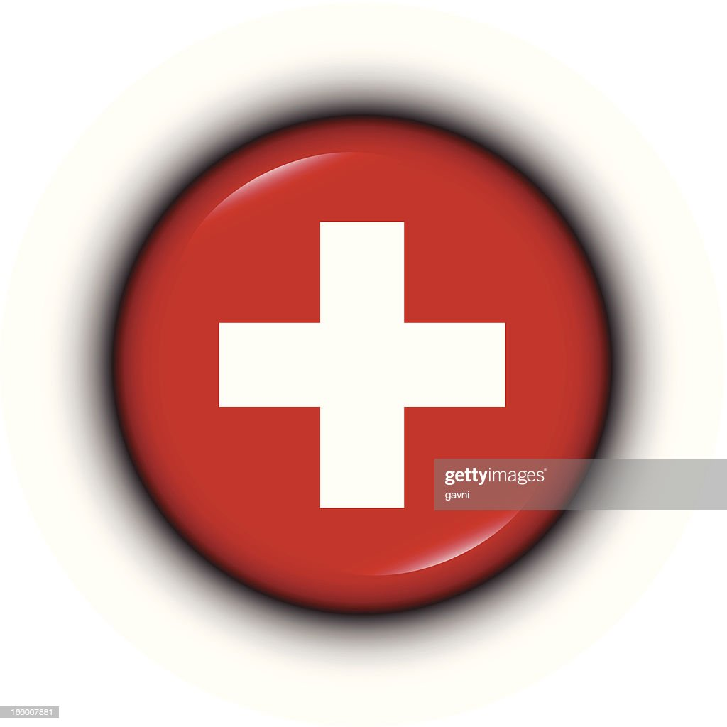 Badge - Swiss flag