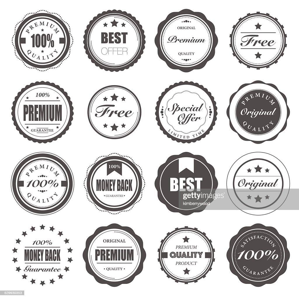 Badge : stock illustration