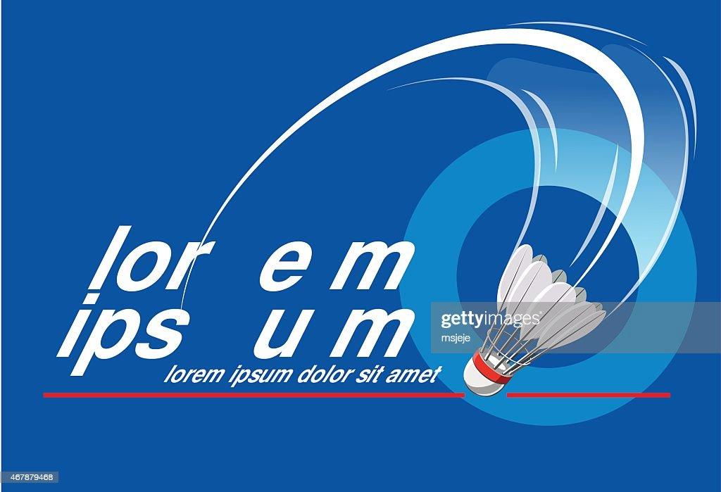 Badminton Event Logo