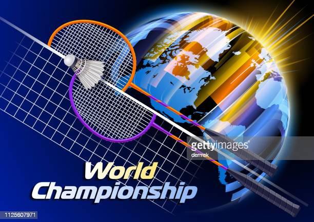 badminton - bookmaker stock illustrations, clip art, cartoons, & icons