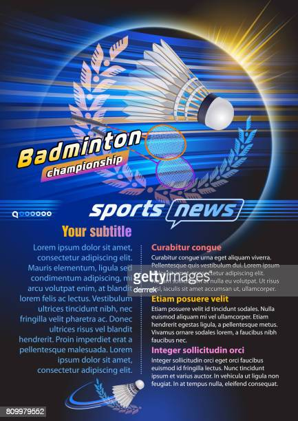 badminton - badminton sport stock illustrations, clip art, cartoons, & icons
