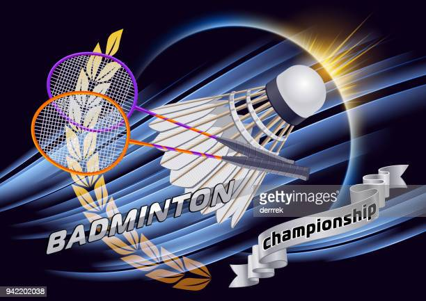 badminton - tournament of champions stock illustrations, clip art, cartoons, & icons