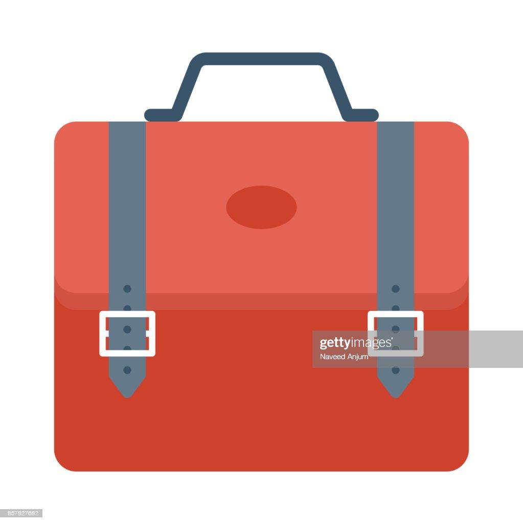 bag Flat Vector Icon