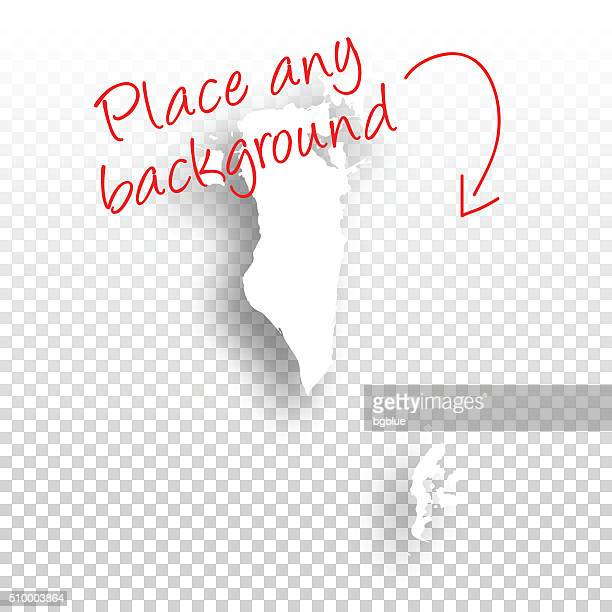 bahrain map for design - blank background - bahrain stock illustrations, clip art, cartoons, & icons