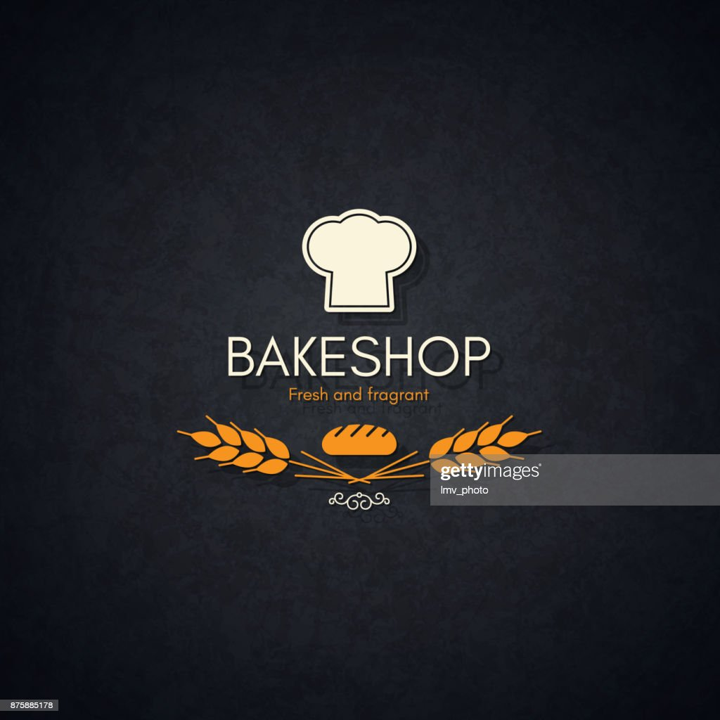 Bakery and bread shop logo
