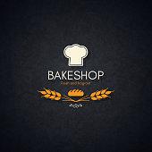 Bakery and bread shop logo