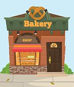Bakery chocolate sweet city shop