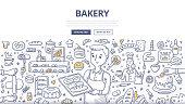 Bakery Doodle Concept