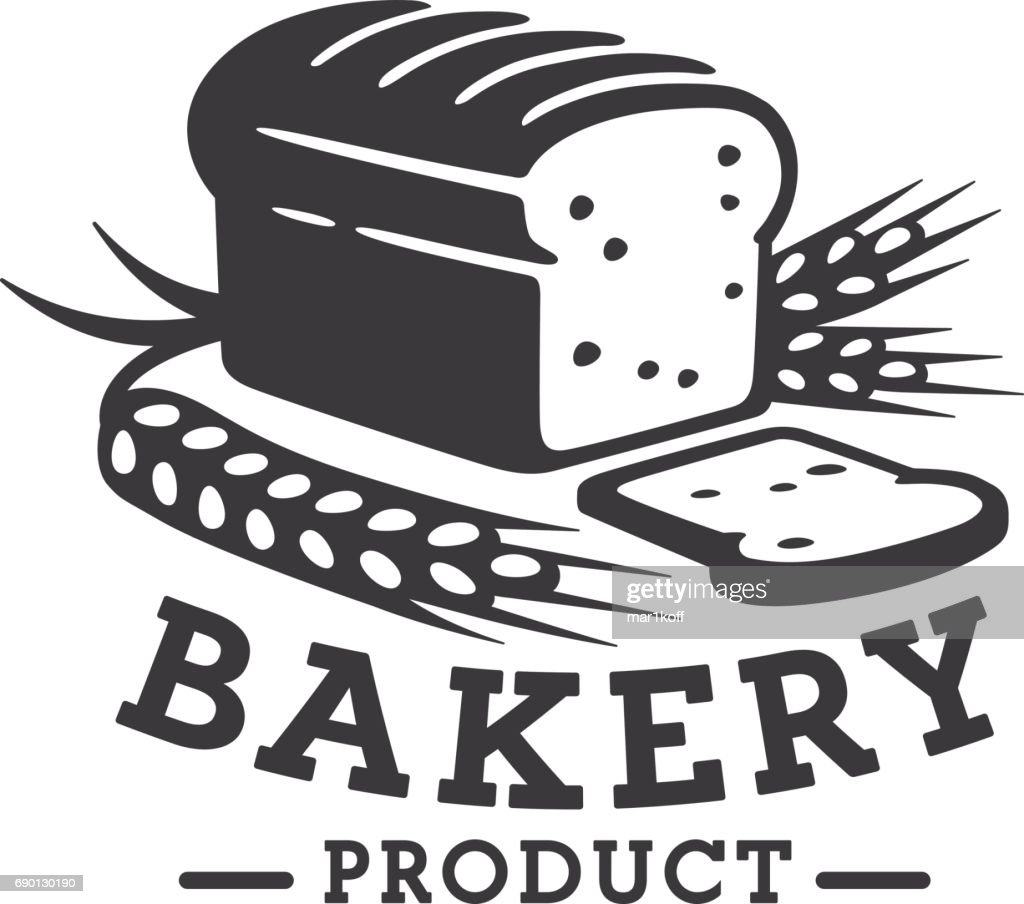Bakery , emblem and label. Bread .