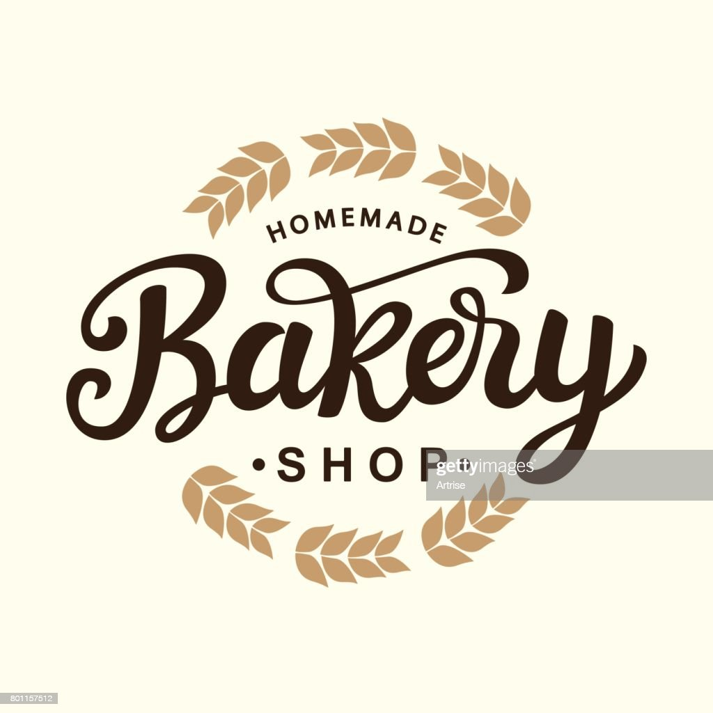 Bakery emblem template design