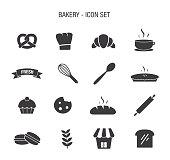 Bakery Icon Set