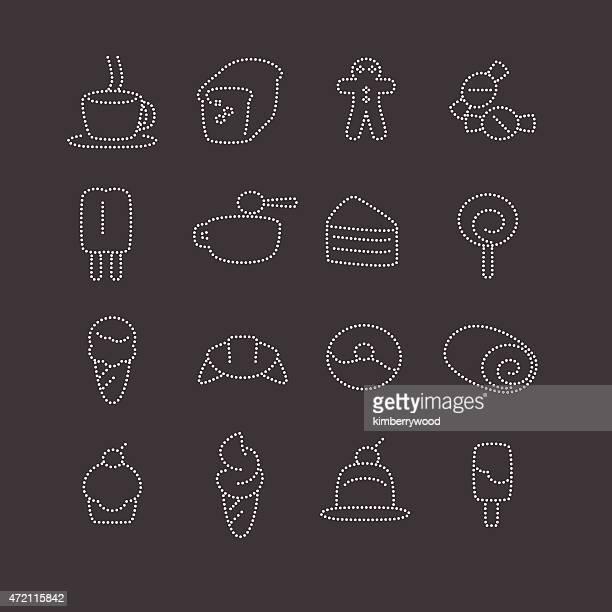ilustraciones, imágenes clip art, dibujos animados e iconos de stock de panadería - scoop shape