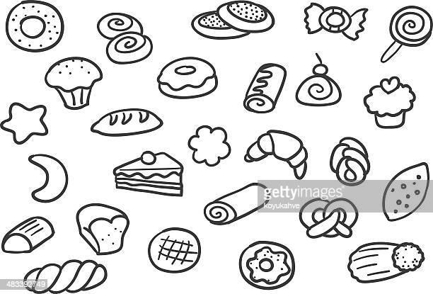 bakery - pretzel stock illustrations, clip art, cartoons, & icons