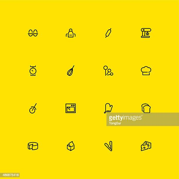 Baking Icons - Line