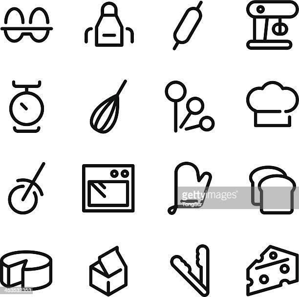 Backen-Icons