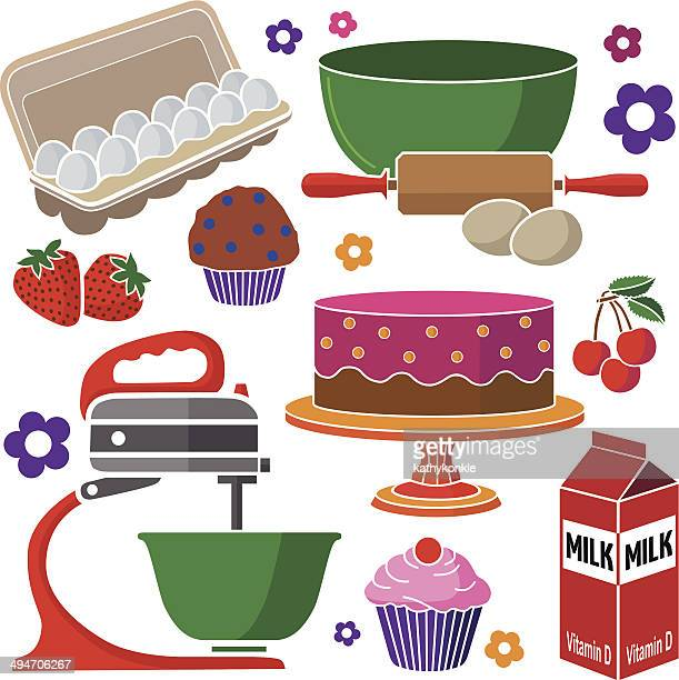 baking muffins and cakes