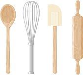 Baking Tools Icon Set
