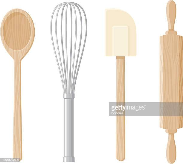 Baking Tools Icon Set