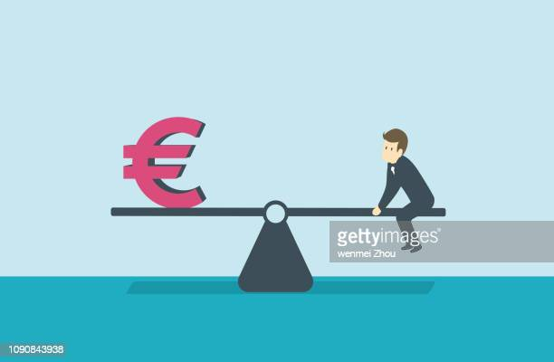 balance - business finance and industry stock illustrations