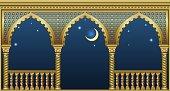 Balcony of the fairytale palace