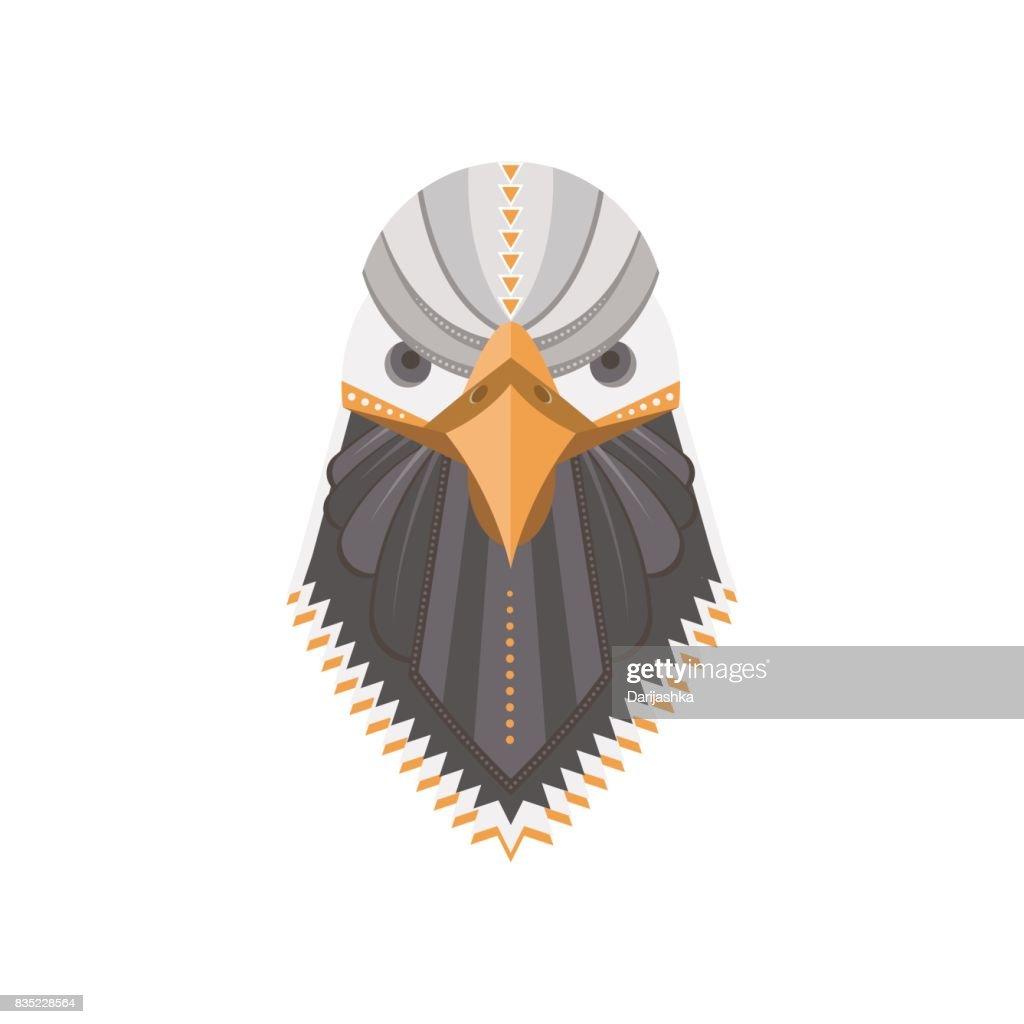 Bald eagle flat head
