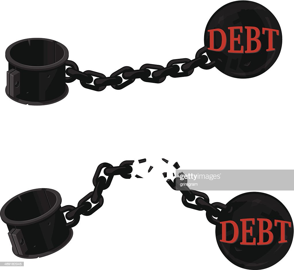 Ball and Chain Debt Icon