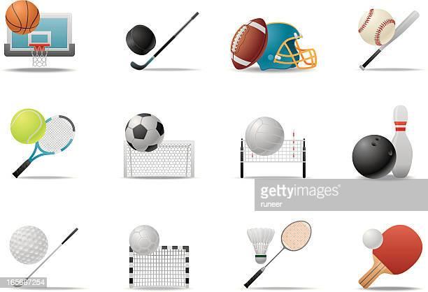 ball sport symbole/premium-matten series - match sport stock-grafiken, -clipart, -cartoons und -symbole