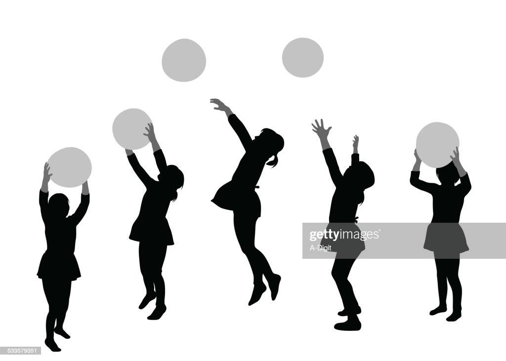 BallonAction : stock illustration