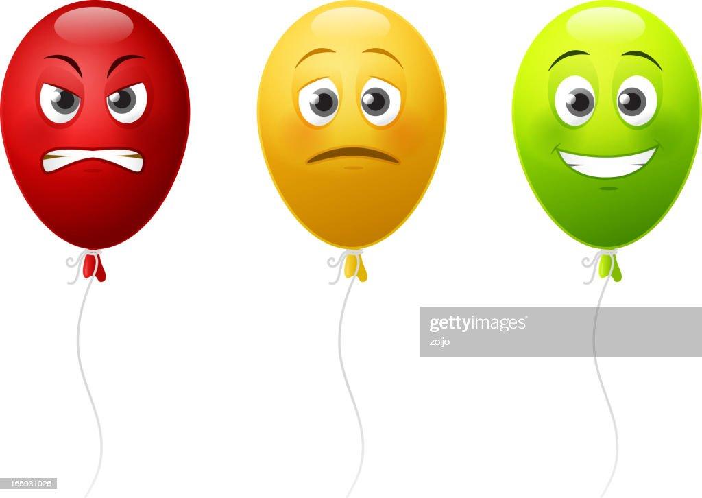 Balloon emotions