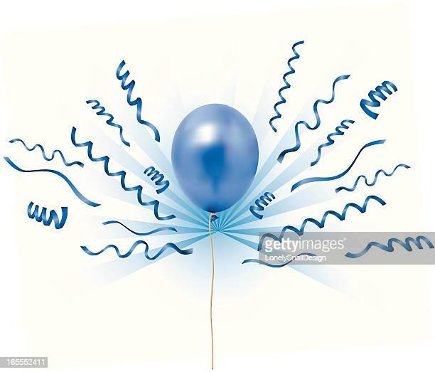 ilustraciones, imágenes clip art, dibujos animados e iconos de stock de globos blueray - lanzar actividad física
