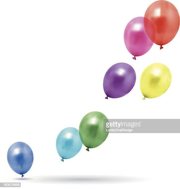 balloons fly