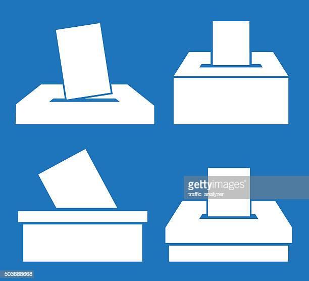 ballot box - ballot box stock illustrations