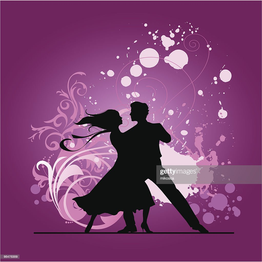 Ballroom dancers.