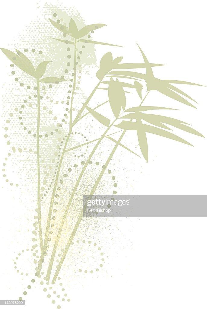 Bamboo Design Element
