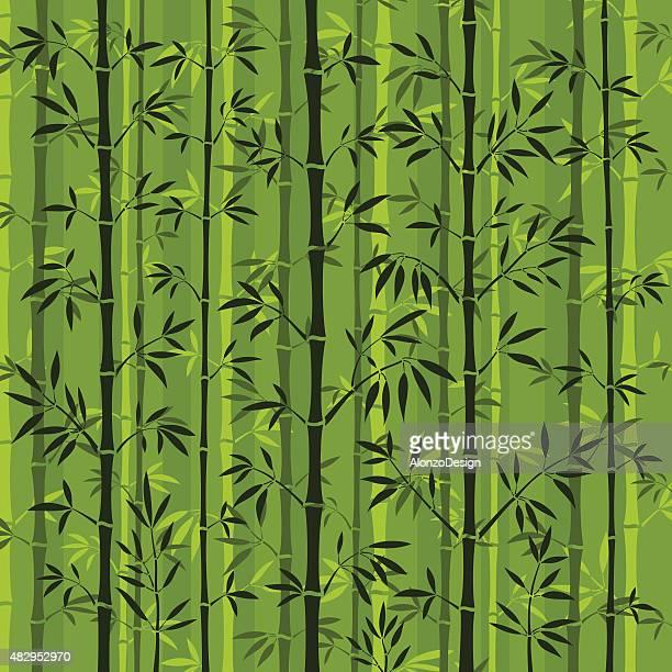 竹林の背景 - 竹点のイラスト素材/クリップアート素材/マンガ素材/アイコン素材
