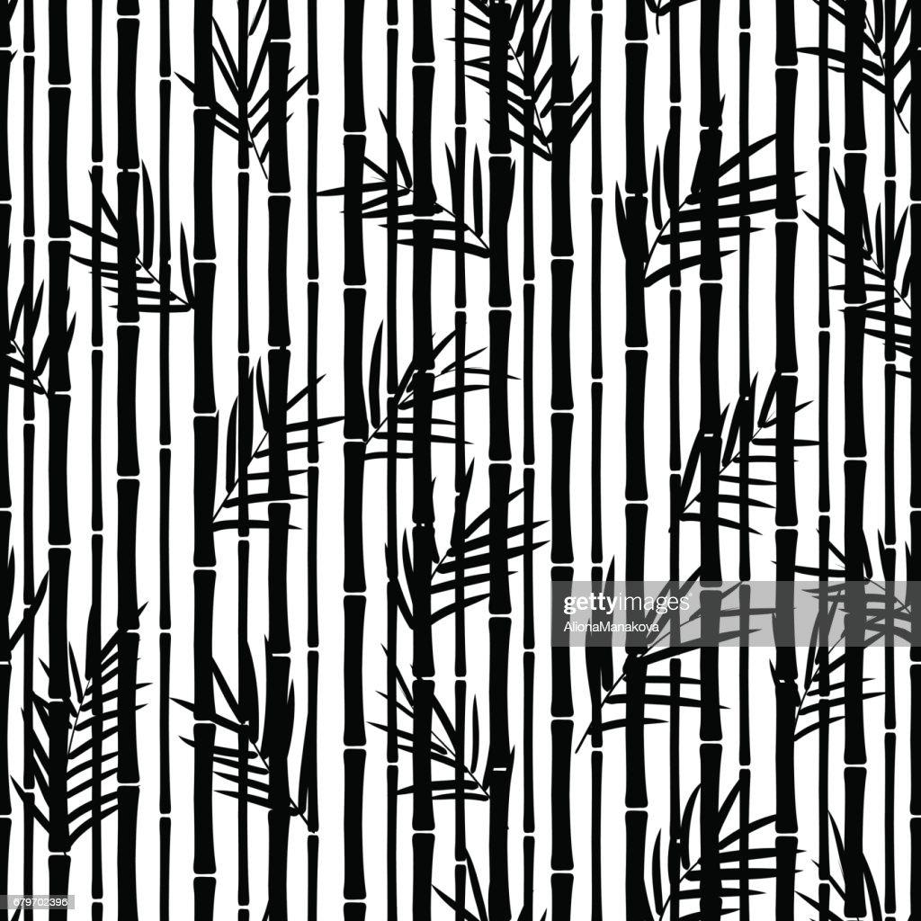 Bamboo seamless pattern.