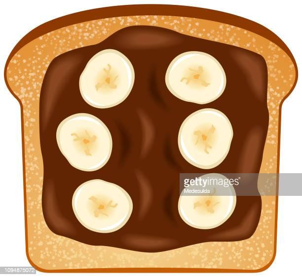 Banana Chocolate Toasted Bread