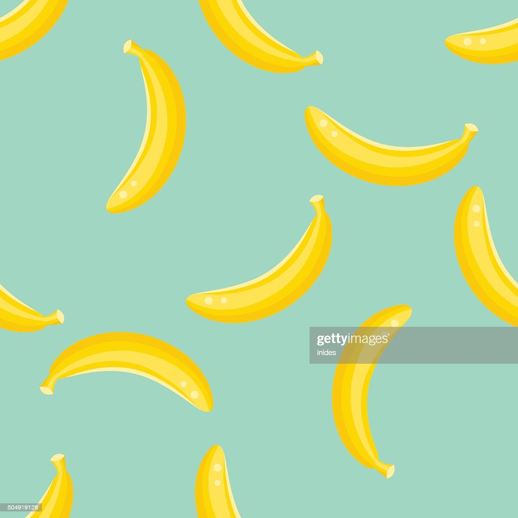 Banana fruit pattern