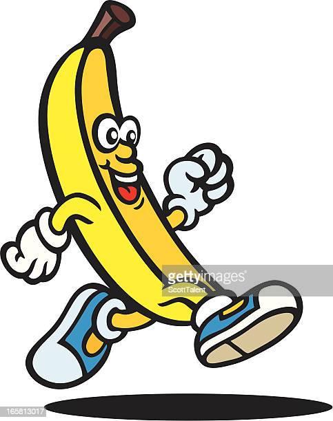 banana guy - banana stock illustrations, clip art, cartoons, & icons