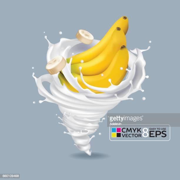 Banana Milk Tornado