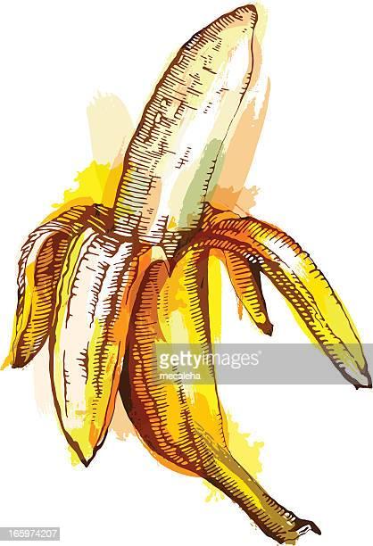 banana - banana stock illustrations, clip art, cartoons, & icons