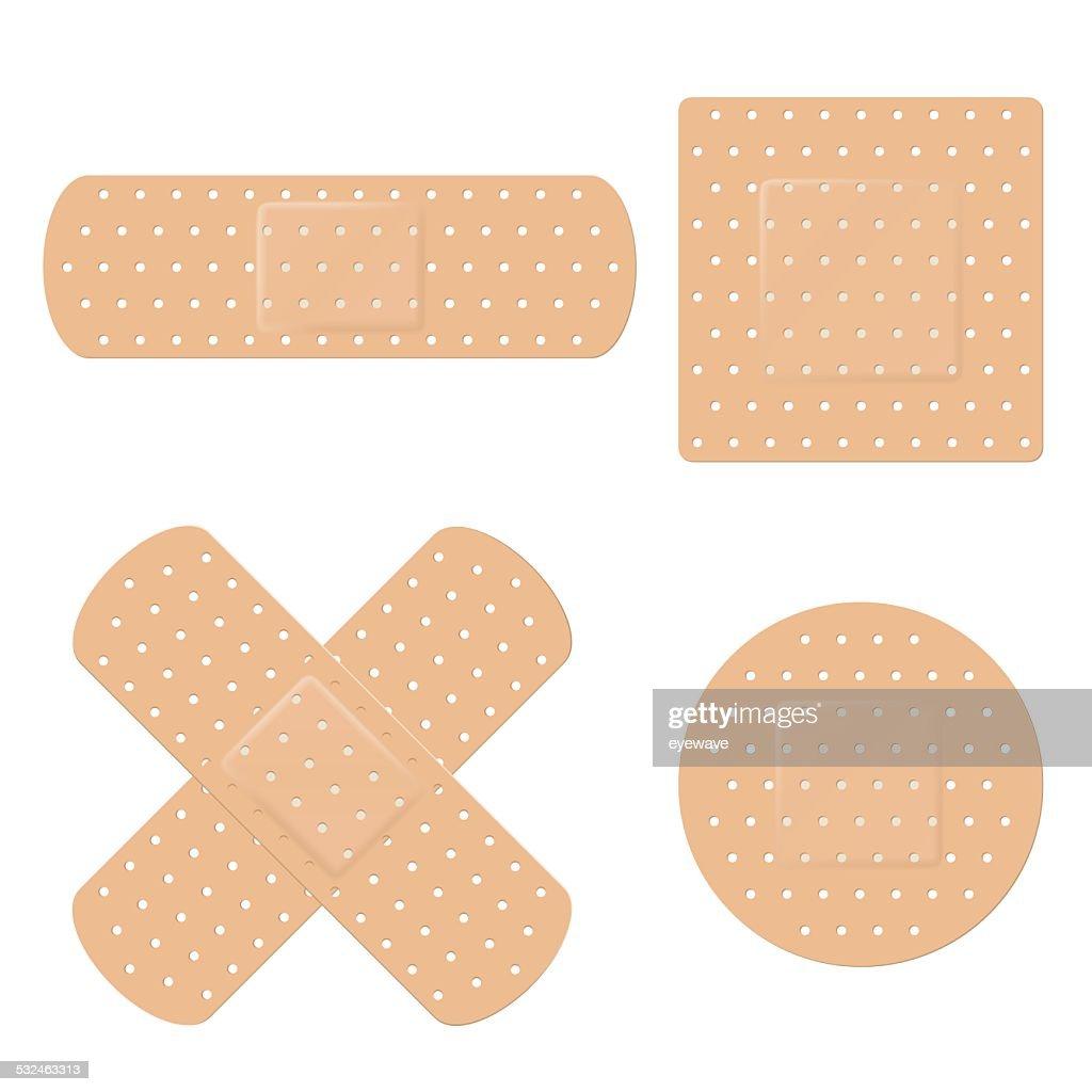 Band Aid Vector Set