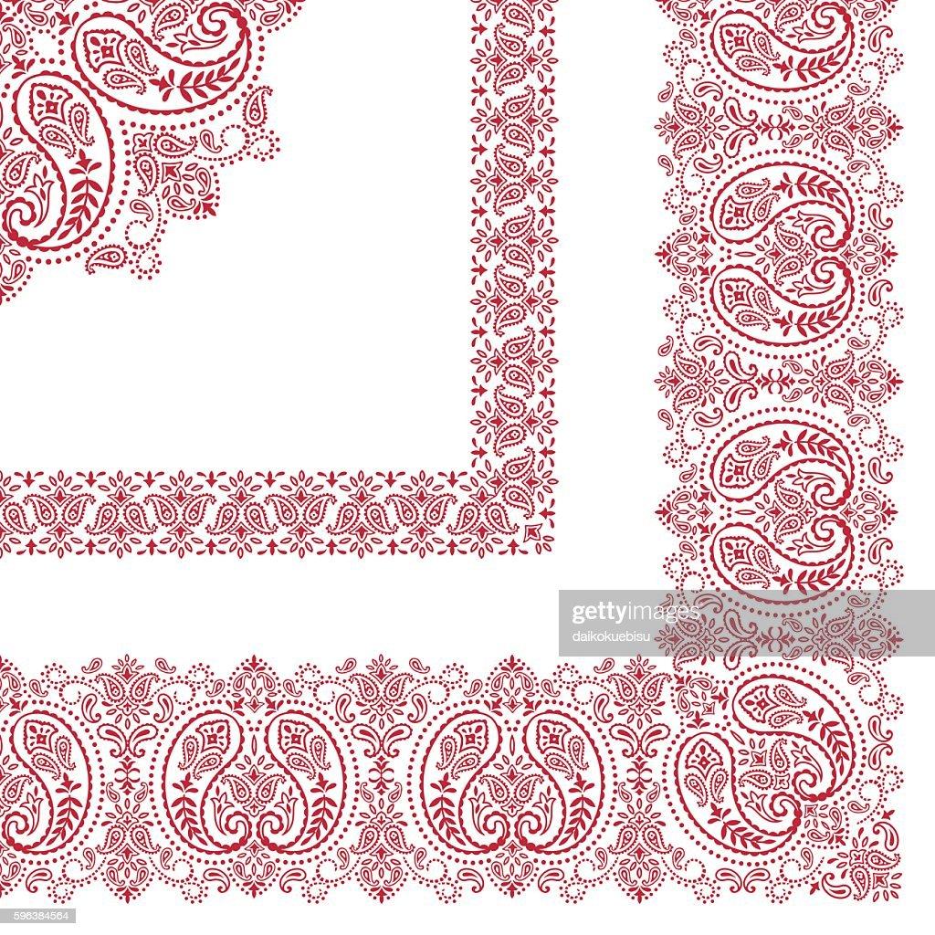 Bandana design material
